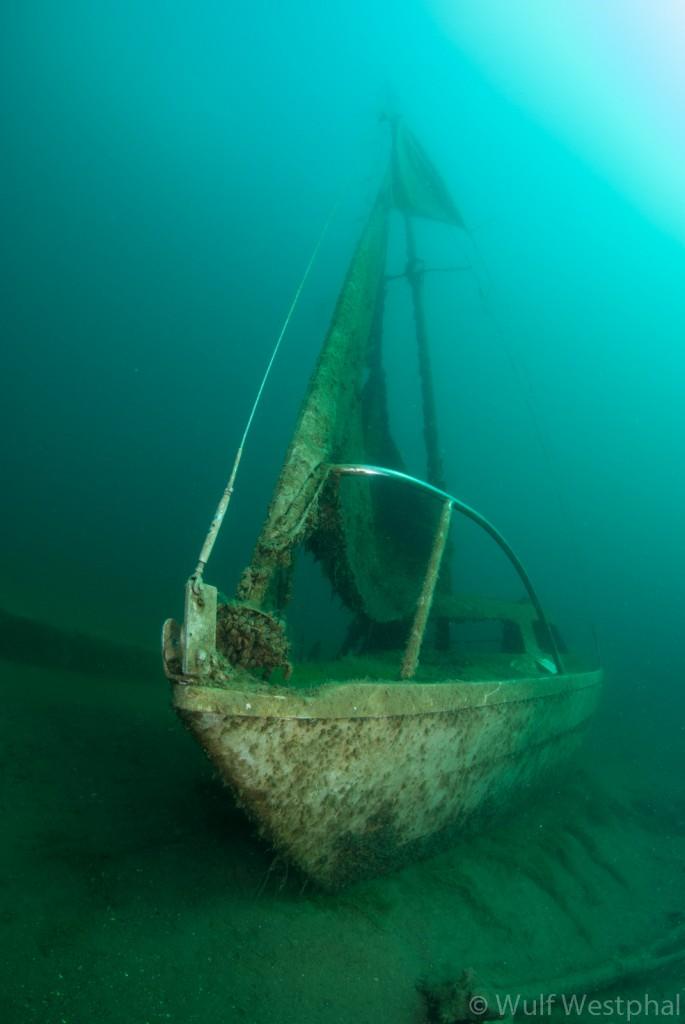 Kreidesee Hemmoor - Segelboot